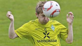 Start im Trainingslager mit Marko Marin