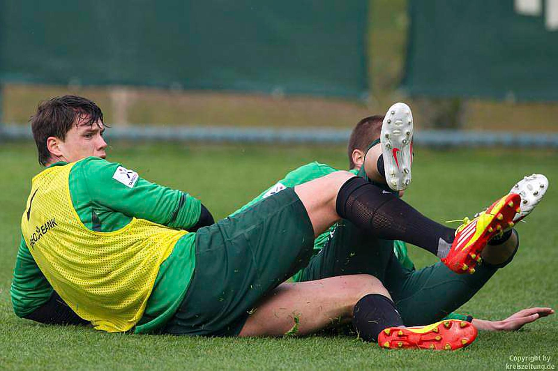 Werder Training Heute