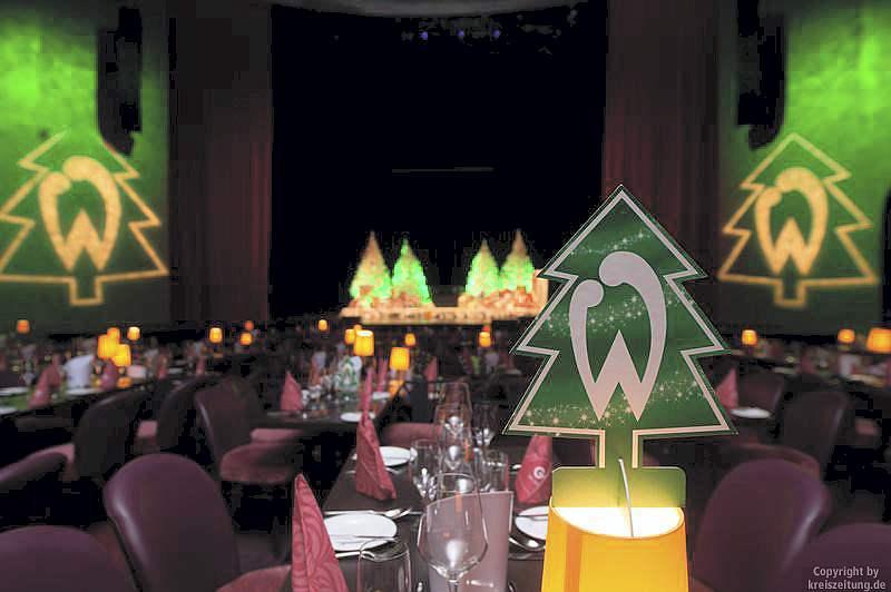 werder bremen weihnachtsfeier im gop variet theater in. Black Bedroom Furniture Sets. Home Design Ideas