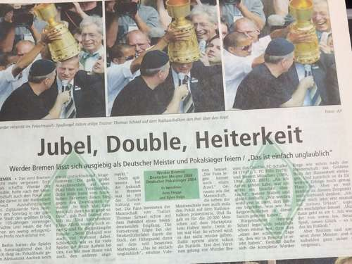 Jubel, Double, Heiterkeit