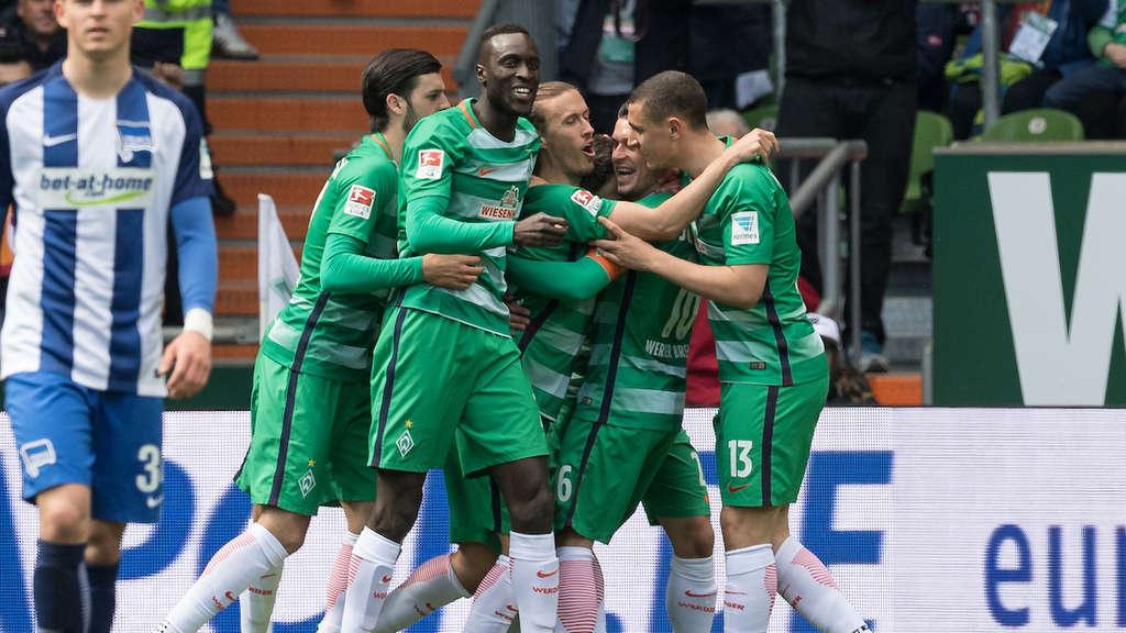 Liveticker Zum Bundesliga Spiel Werder Bremen Gegen Hertha Bsc 31