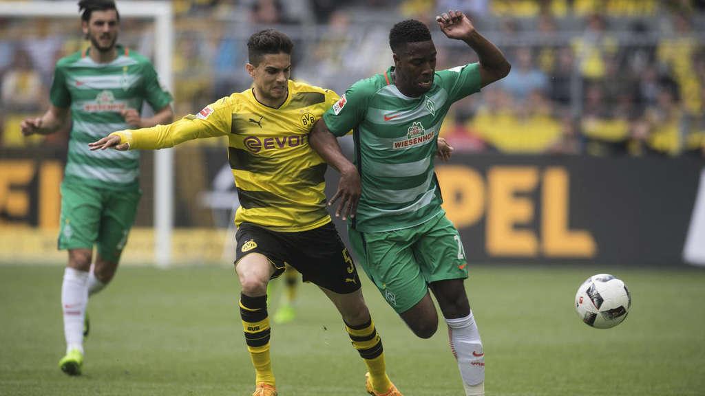 Liveticker Zum Spiel Borussia Dortmund Gegen Sv Werder Bremen