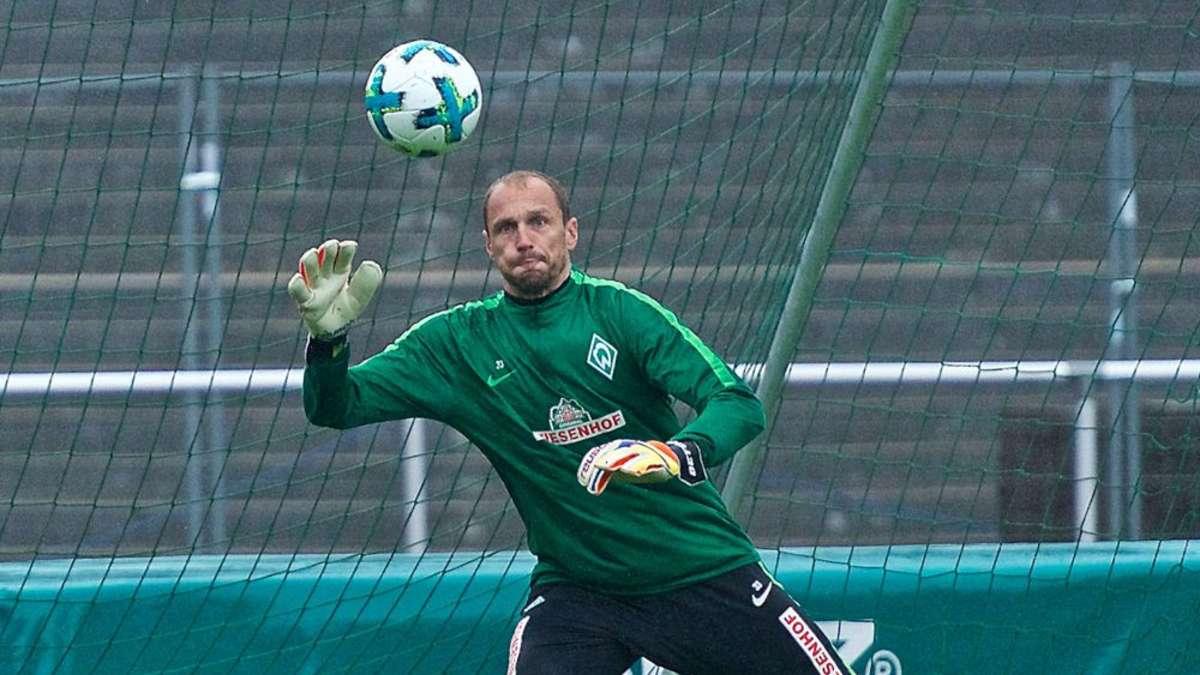 Werder Bremen Jaroslav Drobny wird schon früh gebraucht Michael