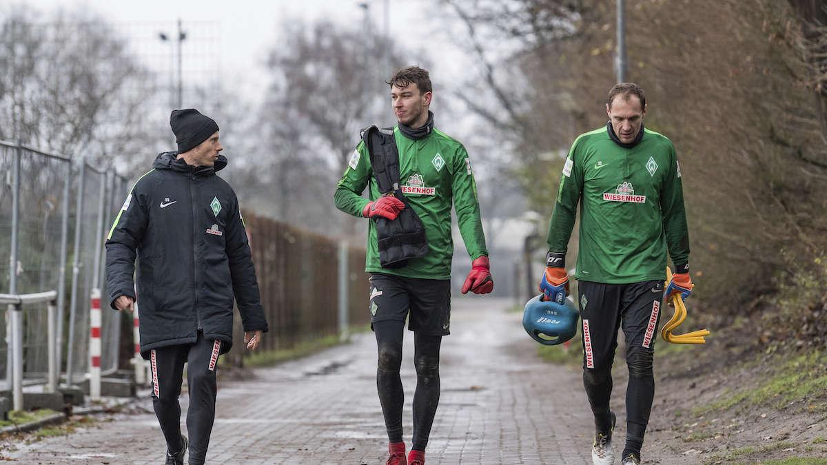 Werder Bremen Training Zugucken