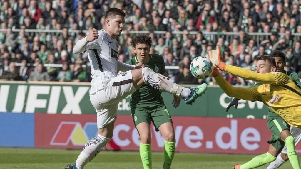 Werder Bremen Gegen Eintracht Frankfurt Liveticker Bundesliga