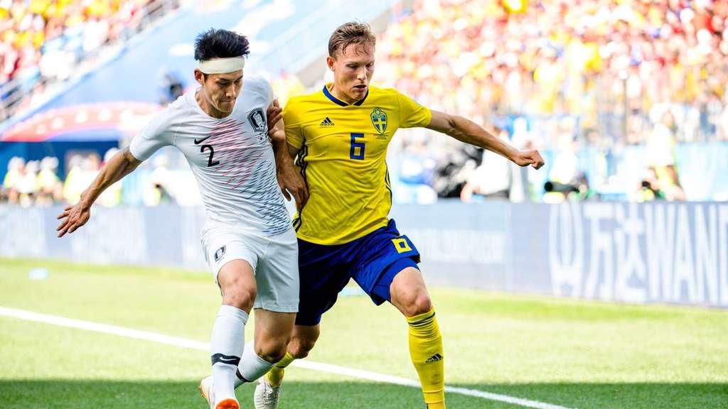 schweden gegen südkorea