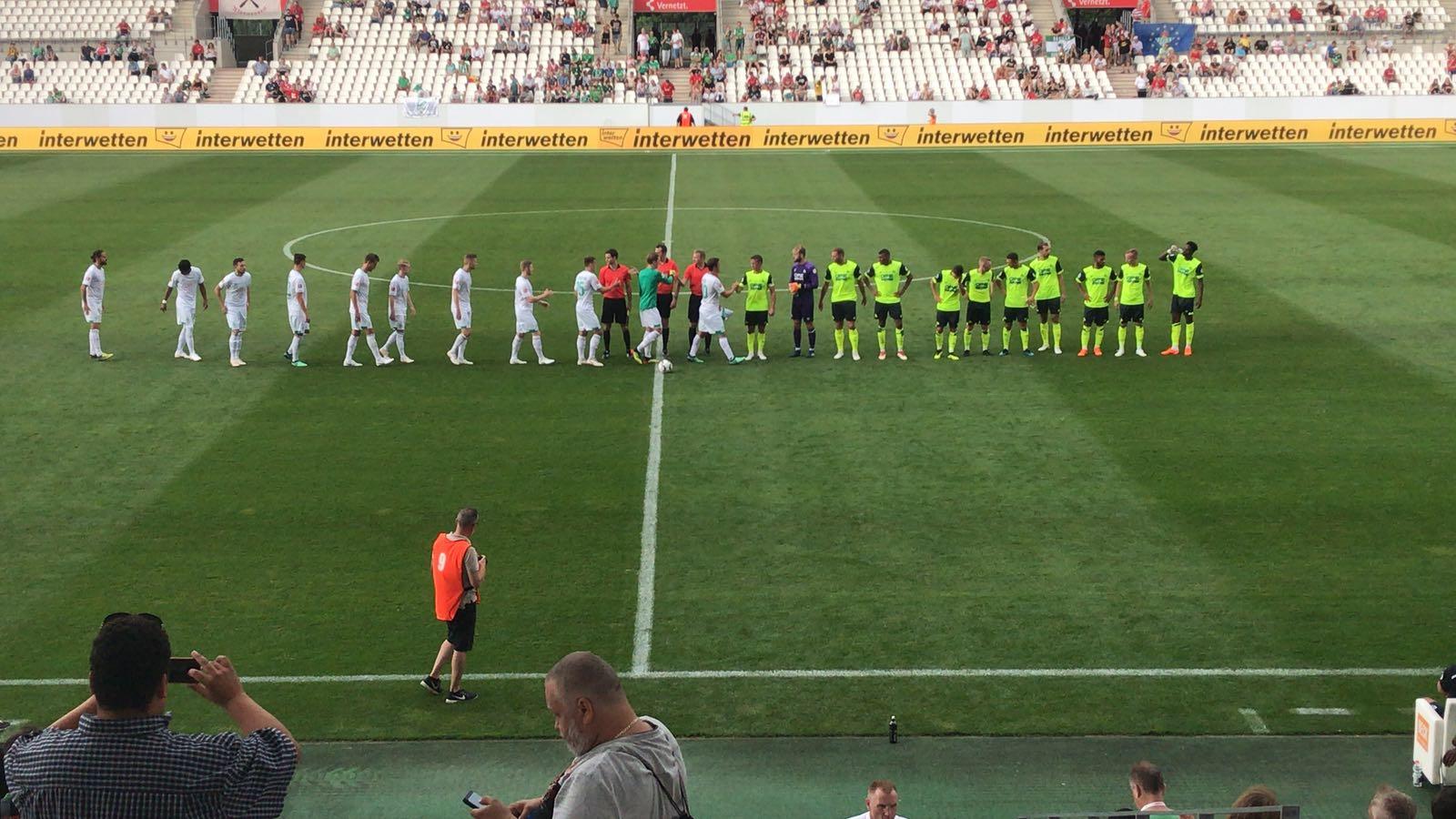 Liveticker Werder Bremen Gegen Rot Weiss Essen Blitzturnier