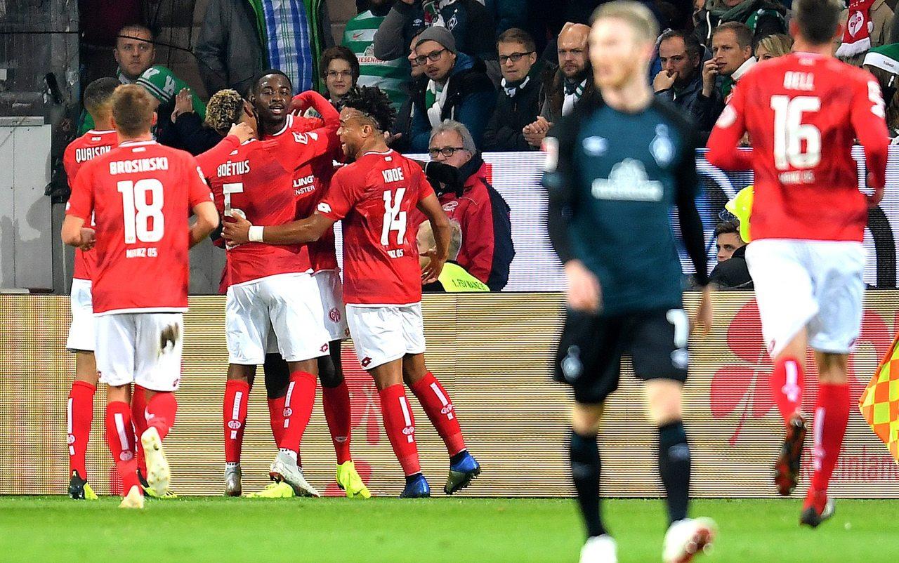 Liveticker 1 Fsv Mainz 05 Gegen Werder Bremen 10 Spieltag