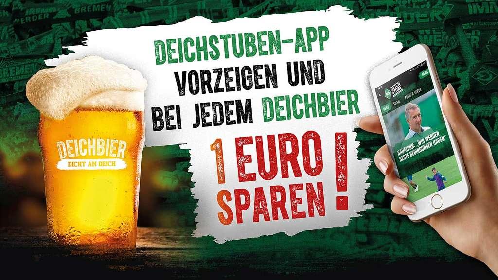 Werder Bremen Deichstuben Aktion Am Brommyplatz Beim Heimspiel