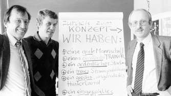 11. November 1981: Willi Lemke wird Werder-Manager