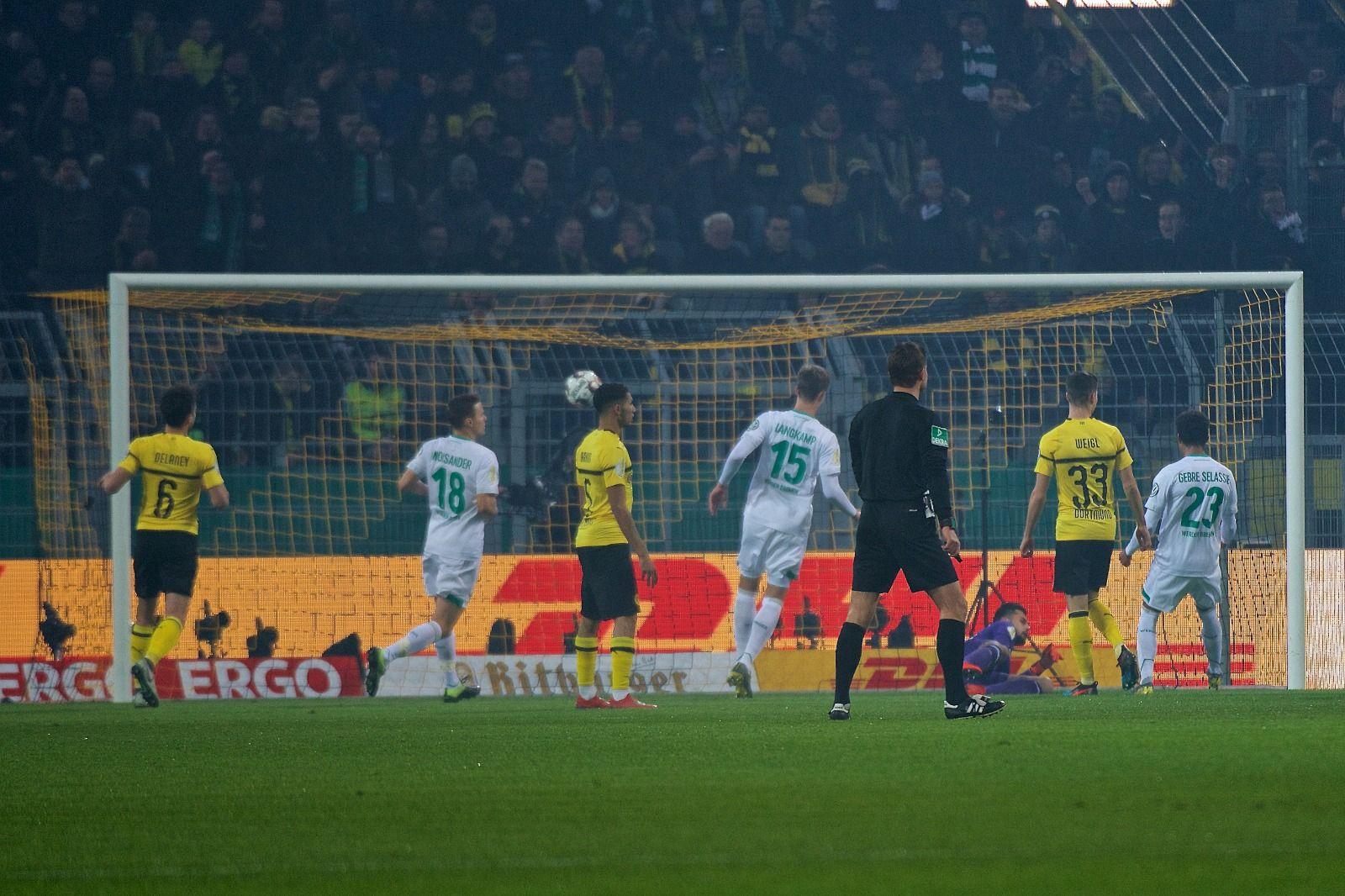 Dortmund Bremen Dfb