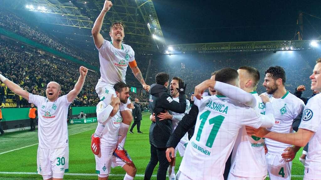 Pokal Dortmund Bremen