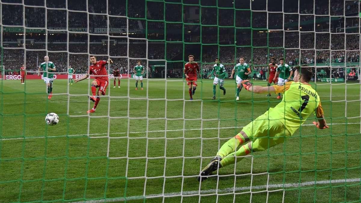 Elfmeter Bayern Bremen