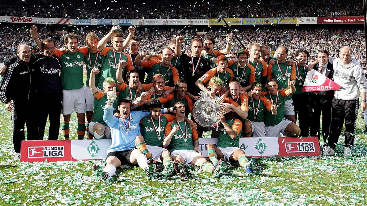 Werder Bremen Meister 2004