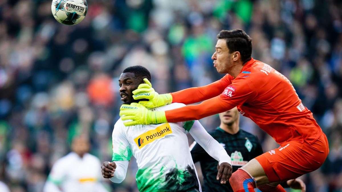 Werder Bremen: Noten und Einzelkritik gegen Borussia Mönchengladbach | News - deichstube.de