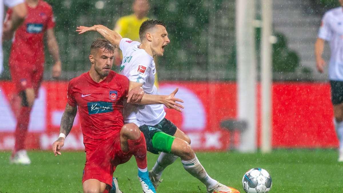 Spielstand Werder Bremen Gegen Heidenheim