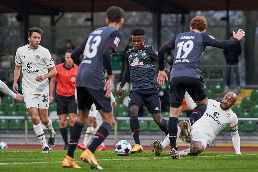 St Pauli Werder Bremen