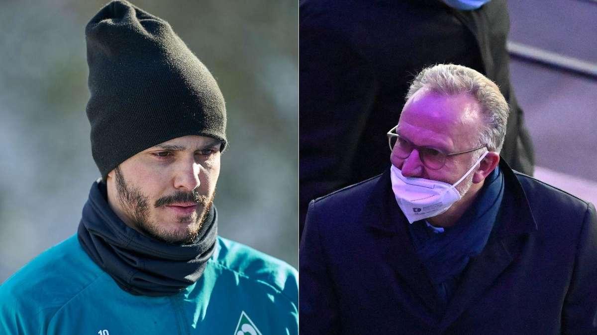 Werder Bremen: Leo Bittencourt kritisiert Impfidee von FC Bayern-Chef! - deichstube.de