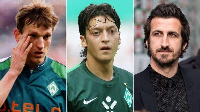 Ehemalige Werder Spieler