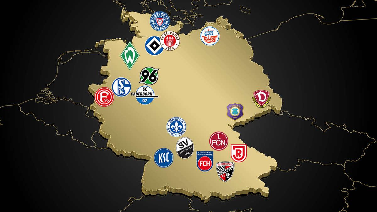 Giganten Und Zwerge Was Werder Bremen In Der 2 Bundesliga Erwartet News