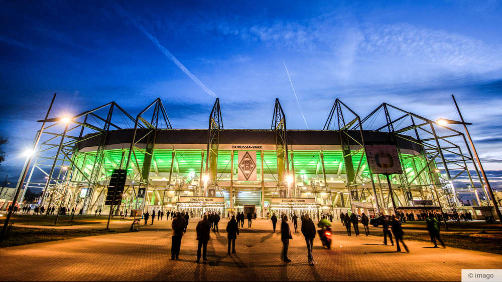 Borussia Park Plätze